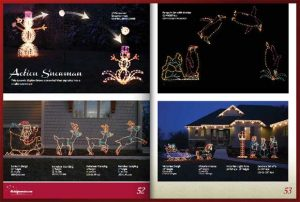Holiday display motifs